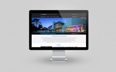 Limovod website